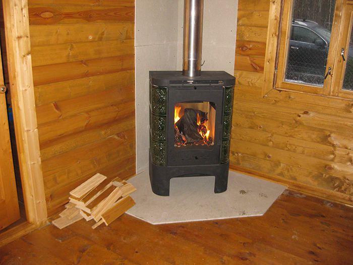 Печь для дачного домика фото