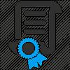 Иконка сертификата соответствия