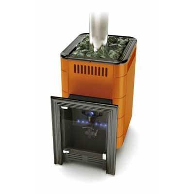 Газовая печь для бани УРЕНГОЙ (терракота)