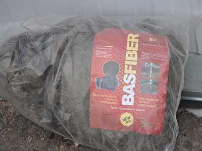 Термоизоляция: Базальтовое волокно (вата)