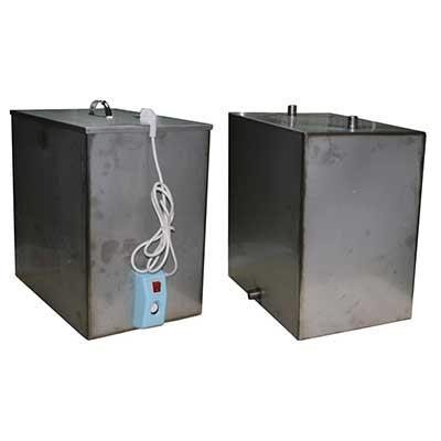 Бак из нержавеющей стали на 80 литров с ТЭНом - купить в Москве и Московской области