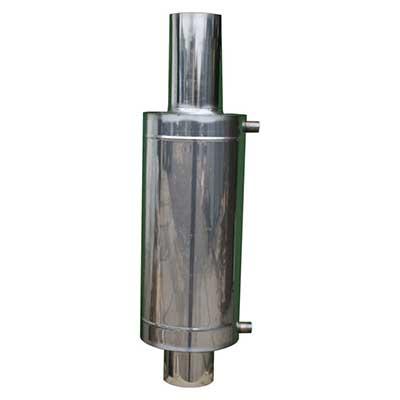 Бак теплообменник 12 л для 150 мм трубы