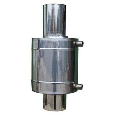 Бак теплообменник 6 л для 110-120 мм трубы