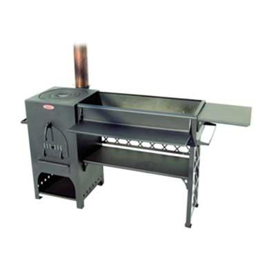 Печь мангал-барбекю BUHARA