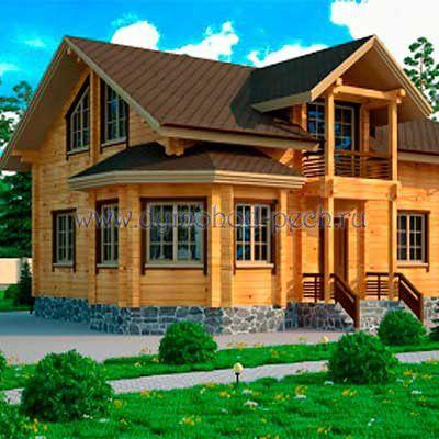 Характеристика деревянного дома из клееного бруса