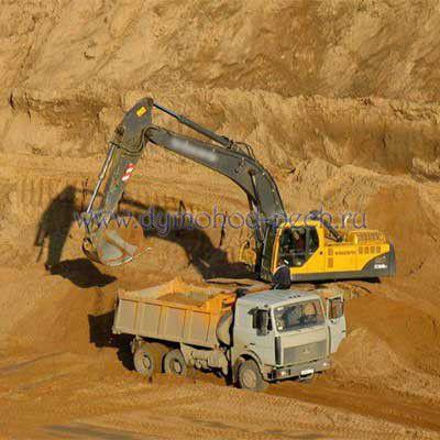 Карьерный песок: основные характеристики