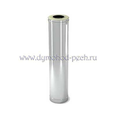 Сэндвич труба для дымохода с оцинковкой 1 L