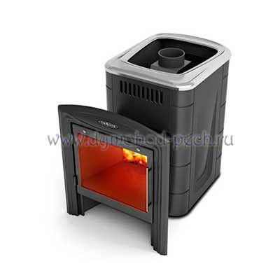 Печь для бани Компакт 2013 Витра Carbon антрацит