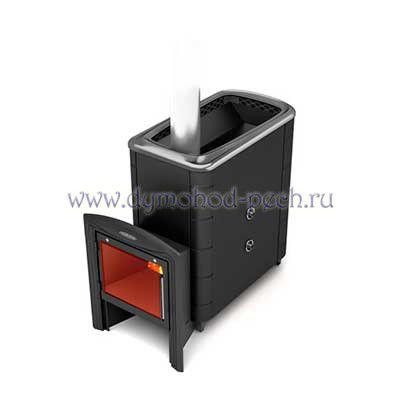 Печь для бани Тунгуска 2013 XXL Витра Inox антрацит с теплообменником