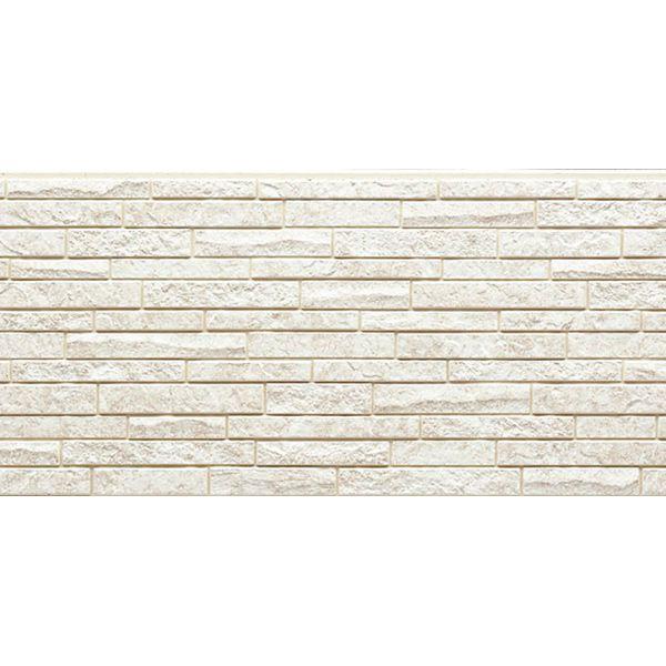 Фиброцементная панель NICHIHA Камень (Белый) EFX3351 (455х1010х16 мм)