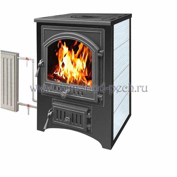 Печь-камин Везувий ПК-01 (205) с плитой т/о т/х