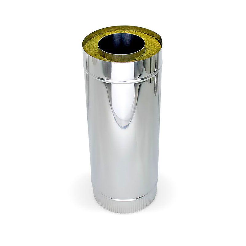 Сэндвич труба для дымохода L0,5m ст.0,6 мм Н/О