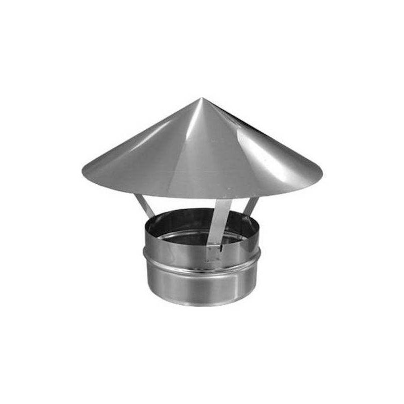 Зонт для дымохода 0,6 мм нерж