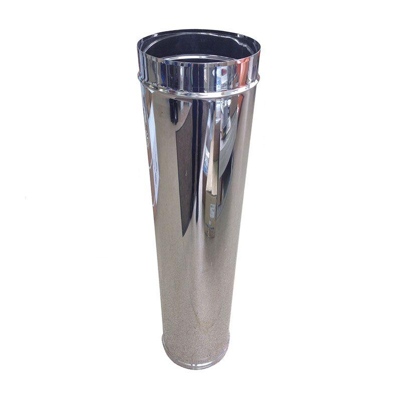 Труба для дымохода L1m ст. 1 мм нерж