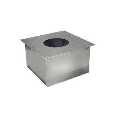Короб 40×40 оцинкованная сталь от ∅120 до ∅230