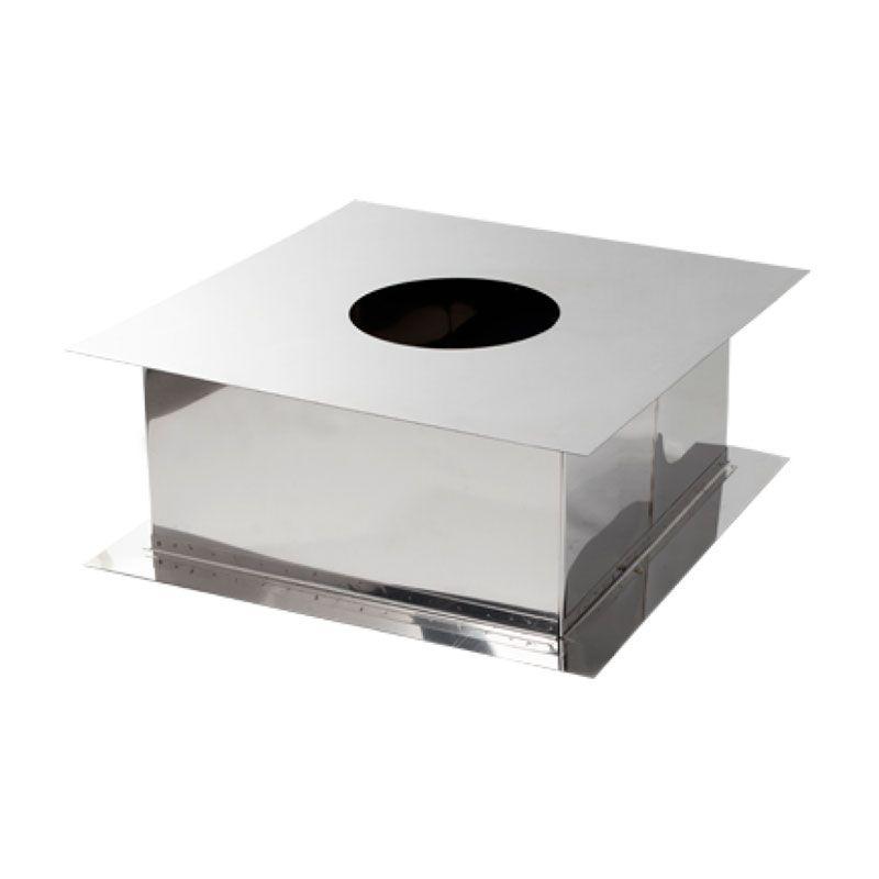Короб 50×50 нержавеющая сталь от ∅260 до ∅280