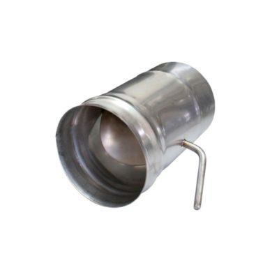 Шибер для дымохода ст.1 мм нерж