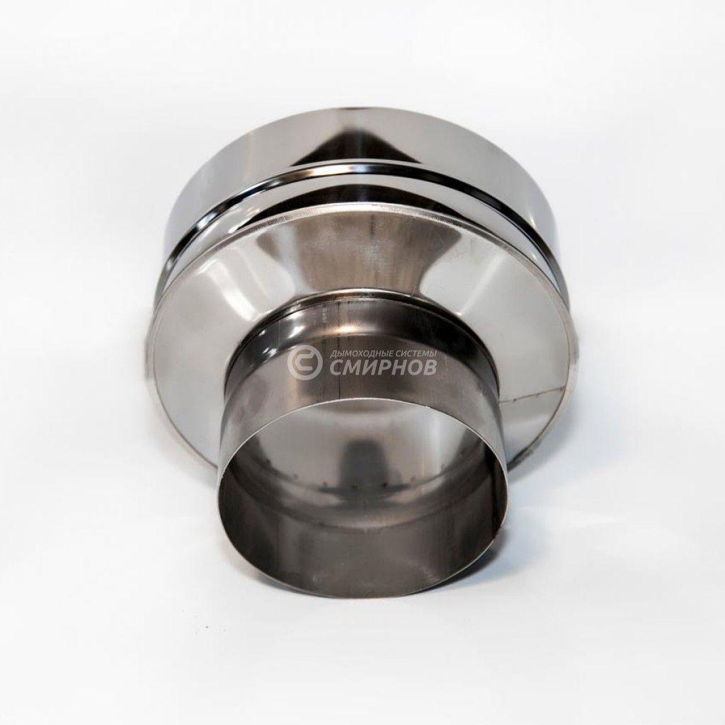 Старт сэндвич (рюмка) для сэндвич трубы, нержавеющая сталь 1 мм