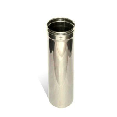 Труба для дымохода L0,5m ст. 1 мм нерж