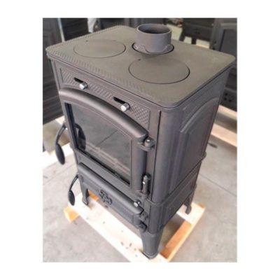 Печь-камин Gucha Lava Premium с плитой