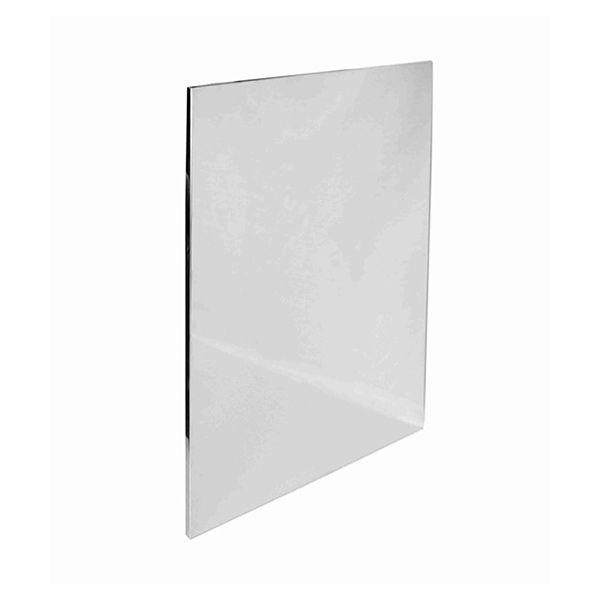 Экран из нержавеющей стали зеркальный 1Х0,6 м