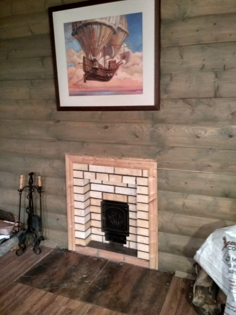 Банная печь + дымоход Малые Вязёмы