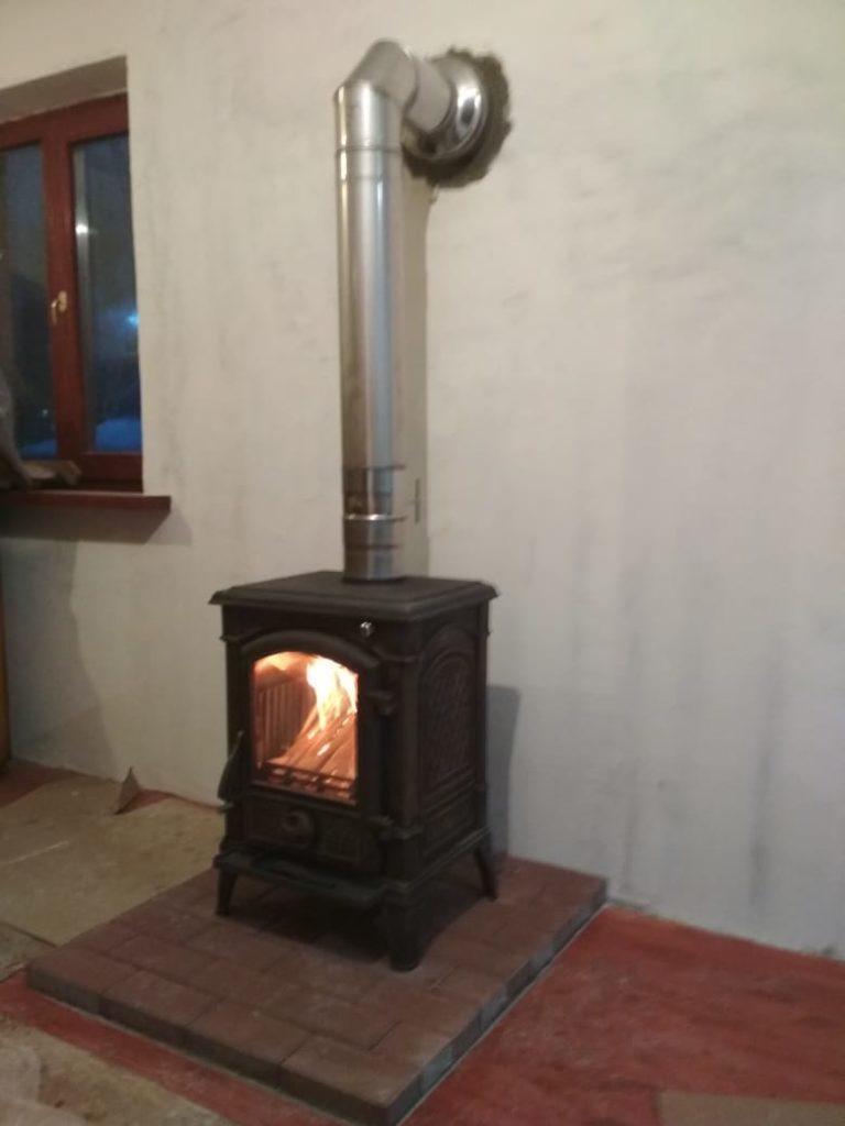 Печь-камин + дымоход Подольск