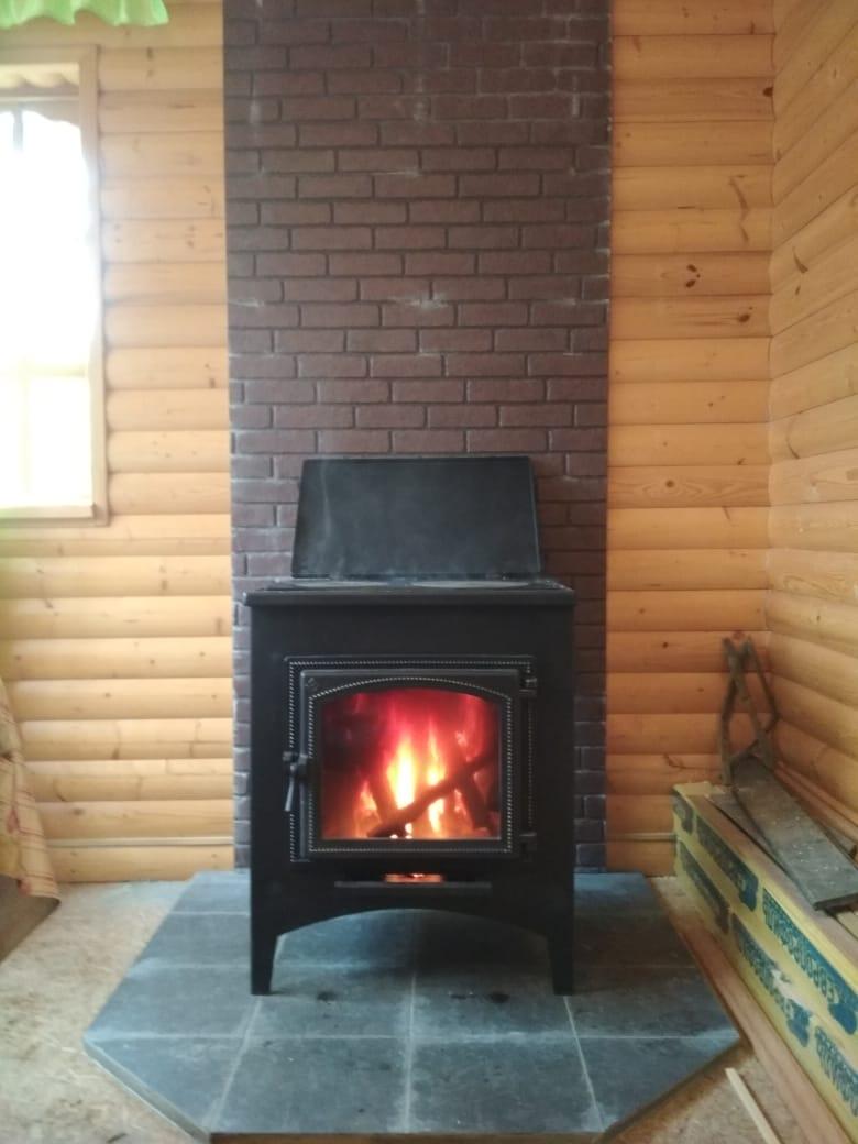 Печь + дымоход Поселок Воровского