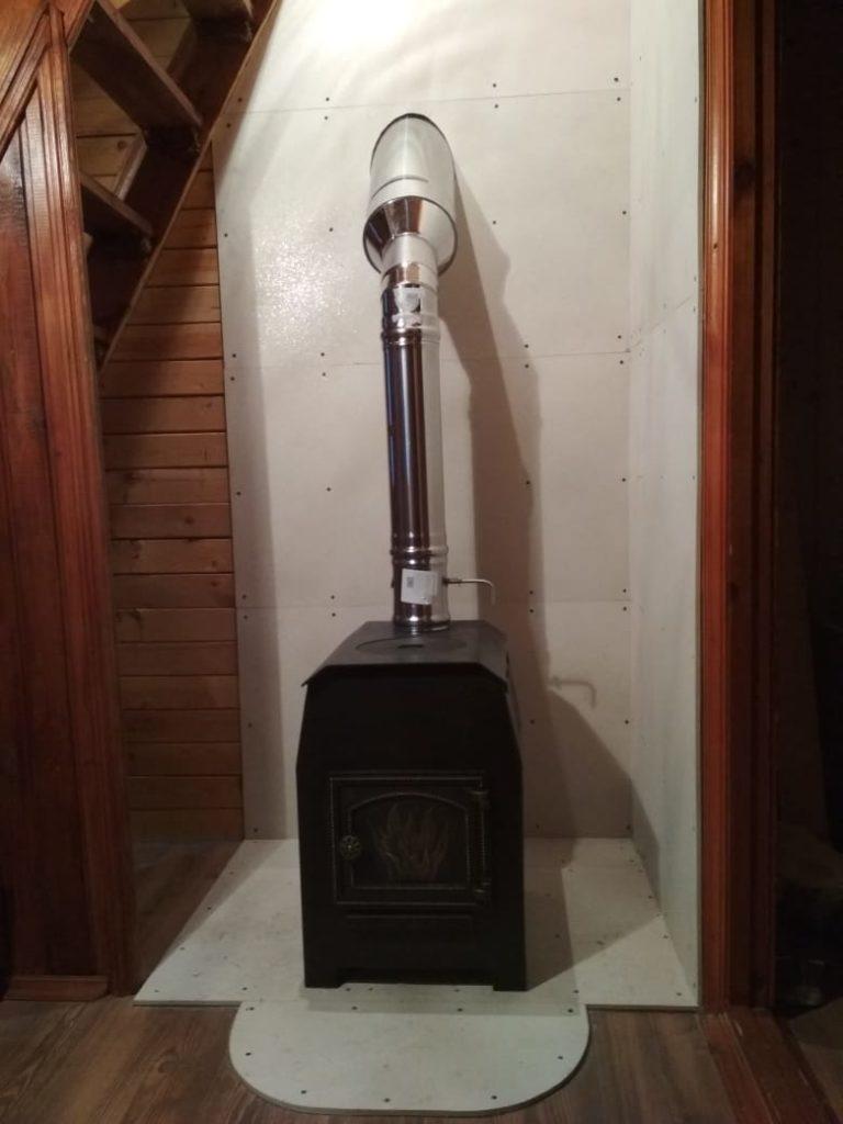 Печь + дымоход СНТ Информатор
