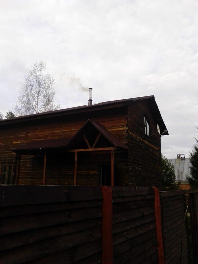 Печь + дымоход Черноголовка